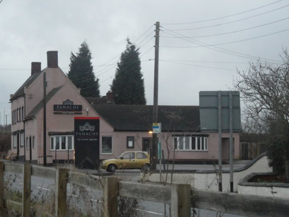 Panache Restaurant, former Three Tuns Inn, December 2012