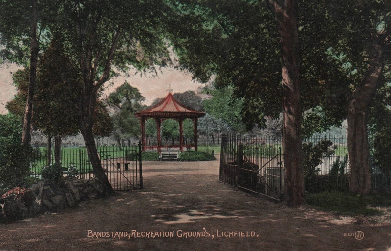 The Bandstand in 1905, taken from Wikipedia Commons