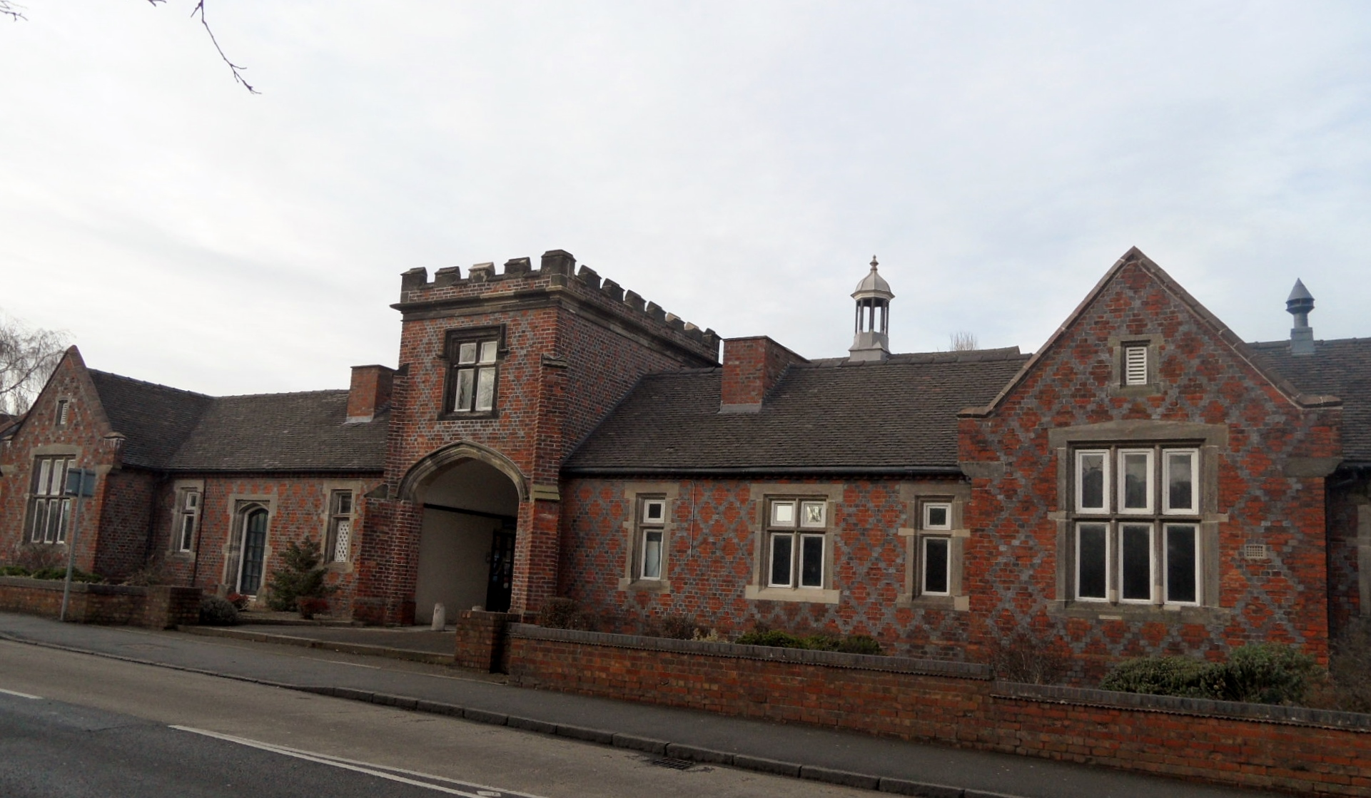 Entrance to the former Workhouse on Trent Valley Road