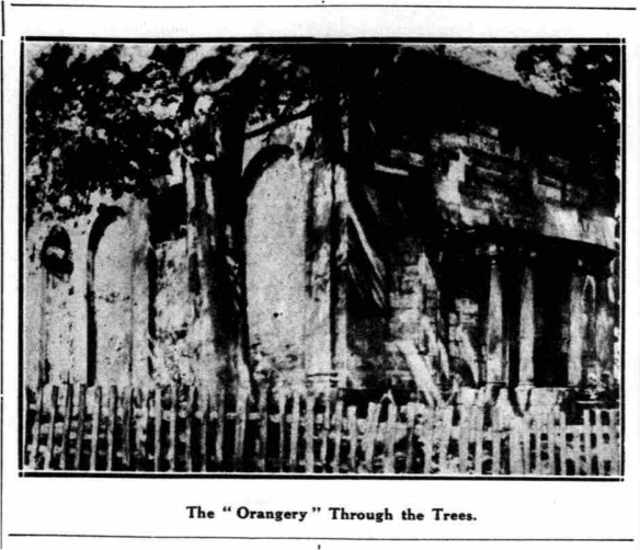 The Orangery at the old Fisherwick Estate. Just about.