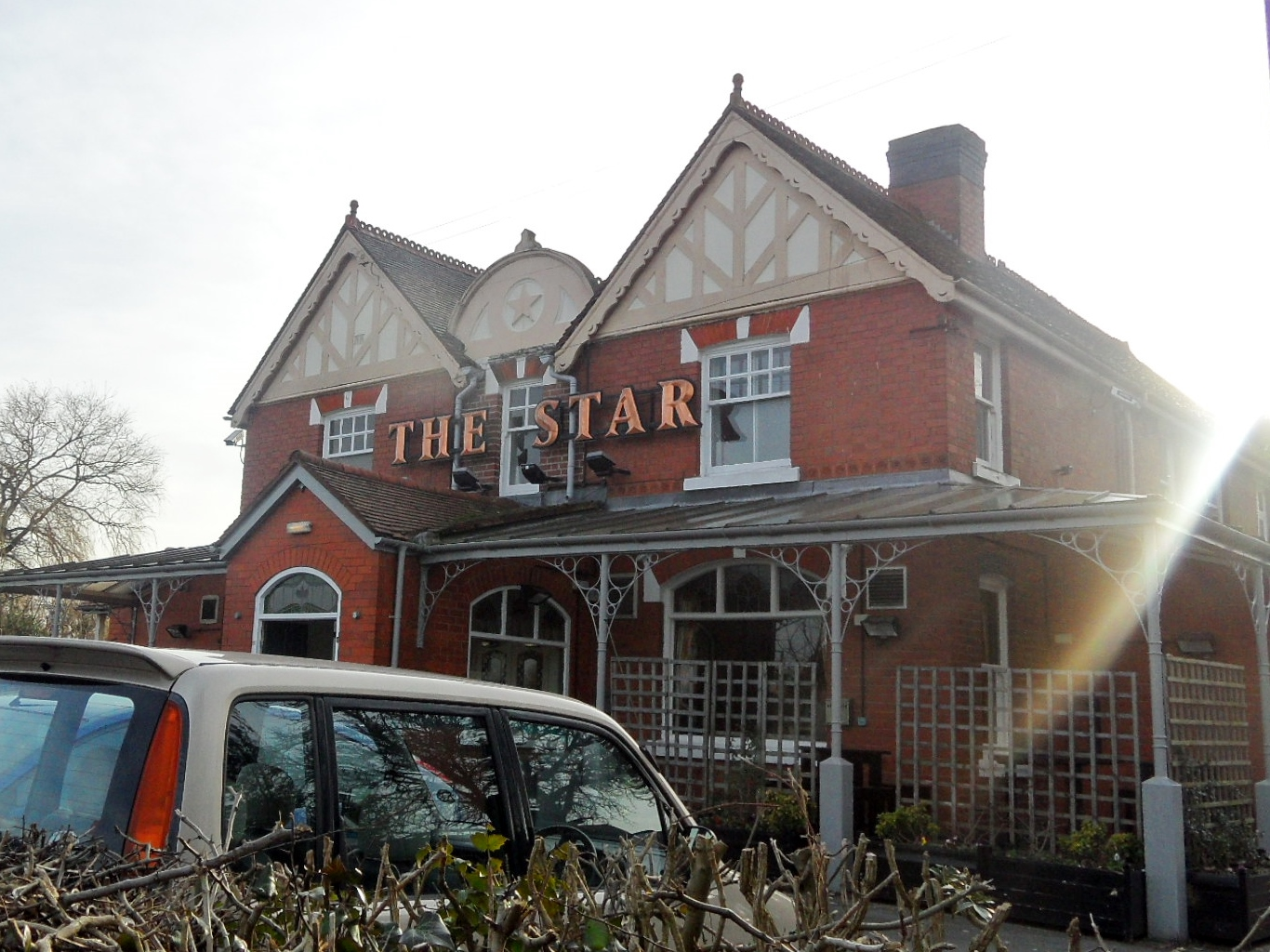 The Star Inn. Burntwood