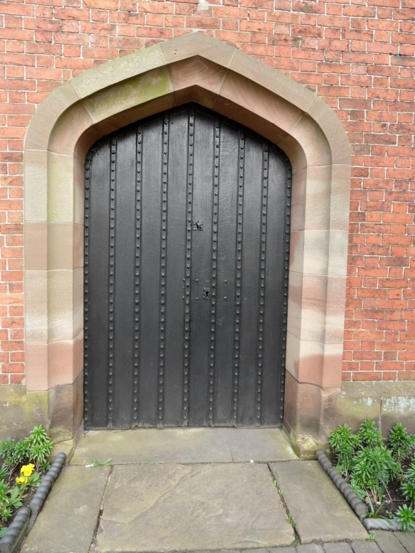 I wonder whether the nails in this door really were created locally?