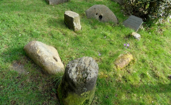 Group of nailers' stones, Burntwood 2