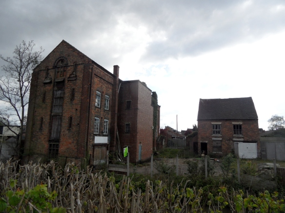 Old buildings Rugeley