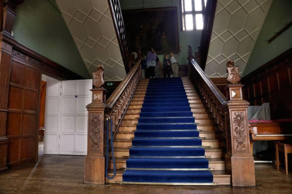 The grand staircase aka The Blue Staircase. By Jason Kirkham