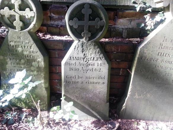 Allen headstone Blithfueld