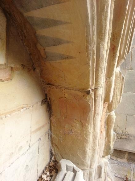 Blithfield effigy arch