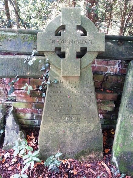 Blithfield Gardeners headstone