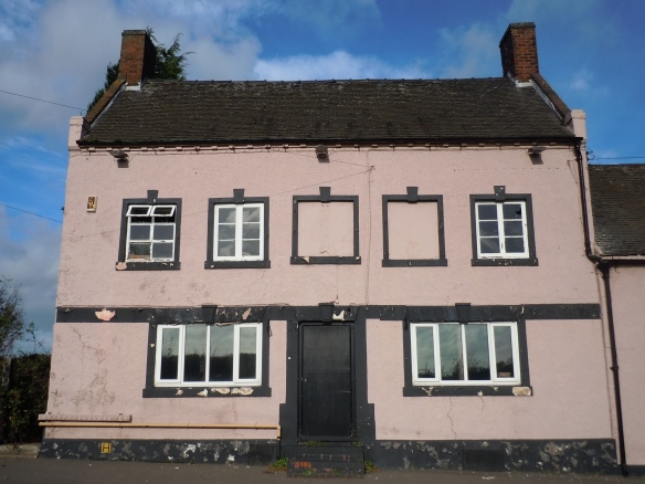 Former Three Tuns Inn, Walsall Road Lichfield. Photo by John Gallagher