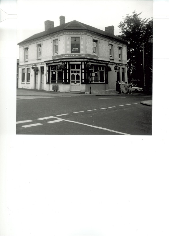 Holly Bush pub, Tamworth Street, Lichfield