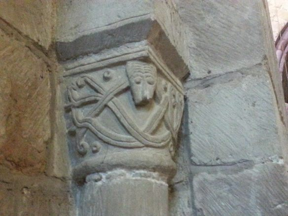Carving at Gnosall
