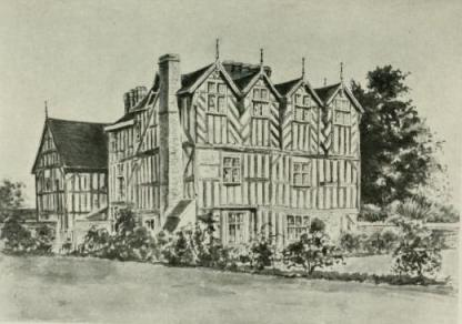 Moseley Old Hall as it was....