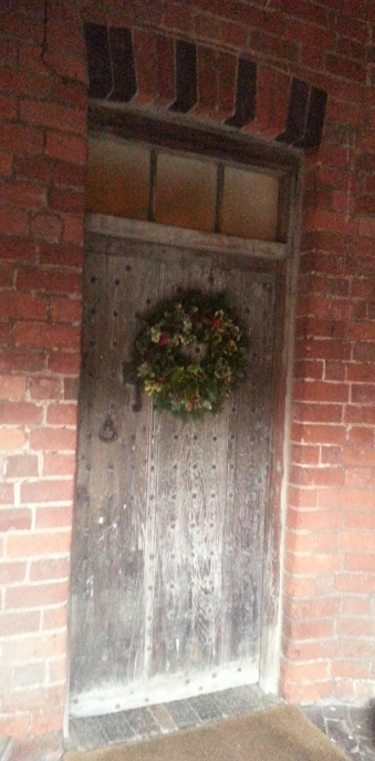 The back door through which Charles entered Moseley Olf Hall on 8th September 1651