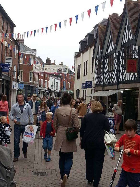 Day to day life in Lichfield