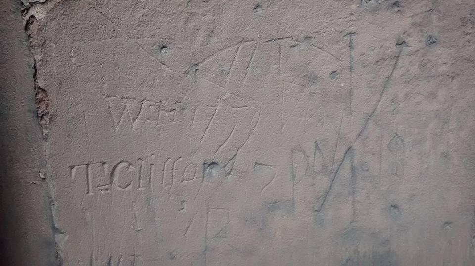 Cathedral graffiti 2