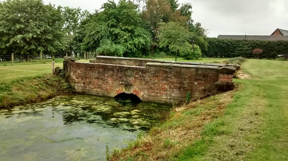 Georgian Bridge over thirteenth century moat