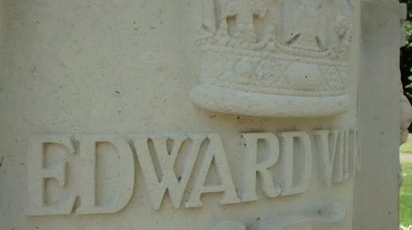 King Edward VII statue Lichfield