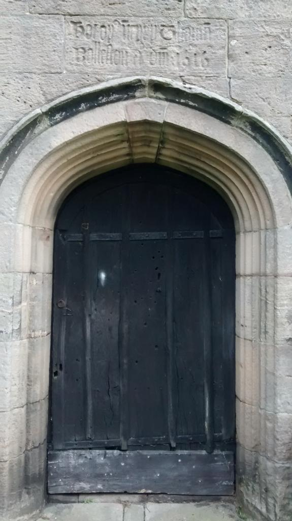 Tower door, Mayfield