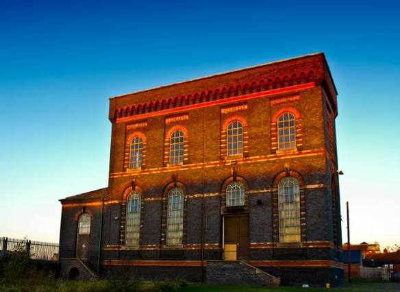 Sandfields Pumping Station. If you still don't know where this amazing place is, tell me and I'll take you there myself.