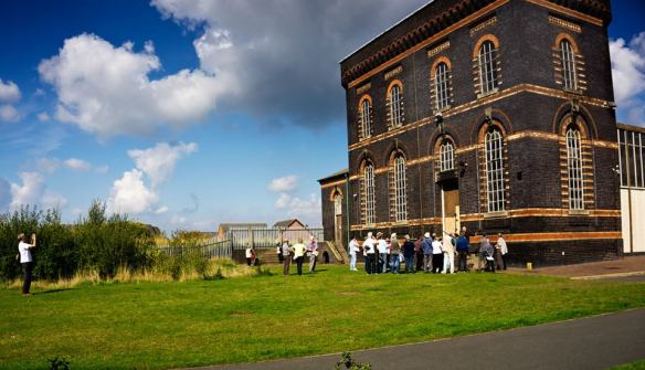 One of the three waterwalks arranged by the Lichfield Waterworks Trust or the Heritage Weekend 2015