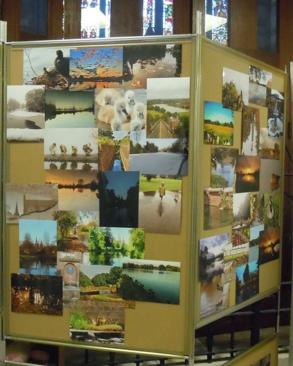 Our display of photos on the theme of Lichfield Water contributed by members of the public during Summer 2015.