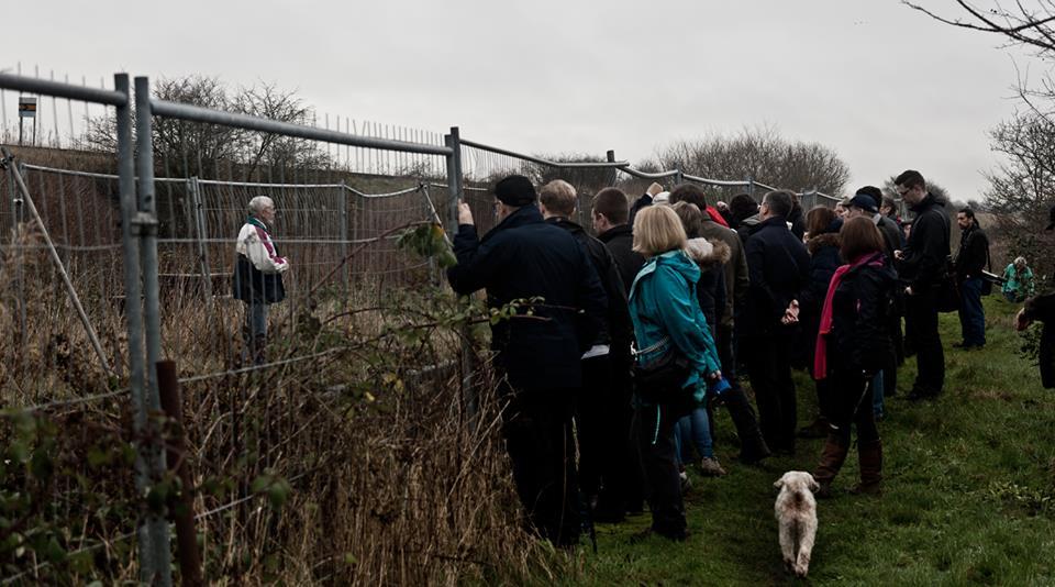 Lock 18 fence