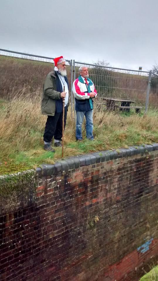 Peter and Bob at Lock 18