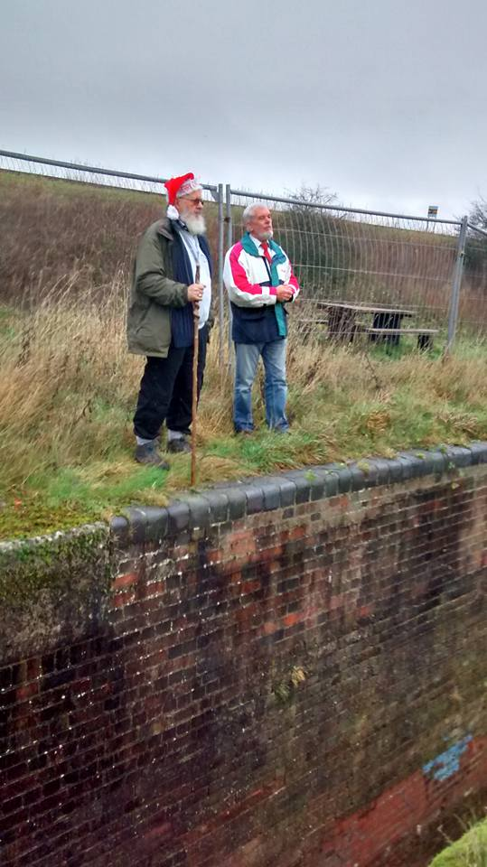 Peter and Bob at Lock 18