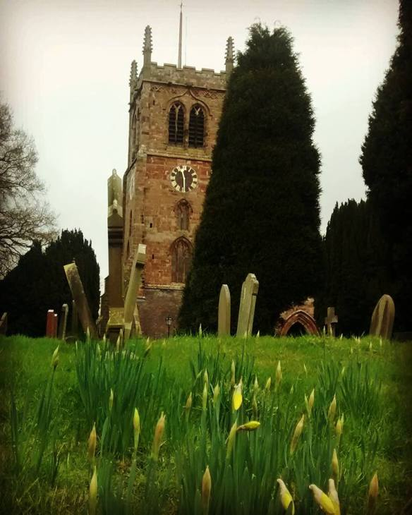 eccleshall church