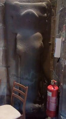 stone effigy eccleshall