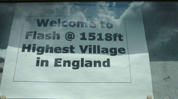 Flash village sign