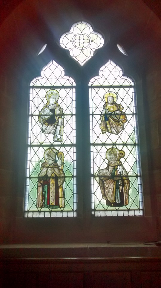 Whittington stained glass