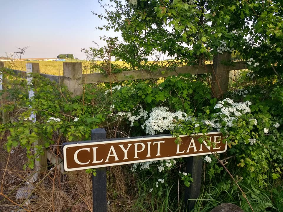 Claypit Lane sign